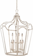 Kalco 7416PS Livingston Pearl Silver 28  Foyer Lighting Fixture
