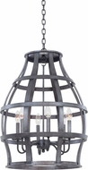 Kalco 7495 Townsend Traditional Vintage Iron Foyer Light Fixture