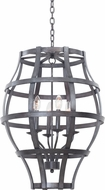 Kalco 7496 Townsend Traditional Vintage Iron Foyer Lighting Fixture