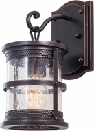 Kalco 9562 Hemlock Traditional Antique Copper Outdoor Light Sconce