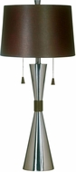 Kenroy Home 02371 Bella Contemporary Brushed Steel Table Lamp