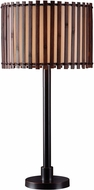 Kenroy Home 32279BRZ Bora Bronze Outdoor Side Table Lamp