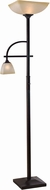 Kenroy Home 32292ORB Arch Oil Rubbed Bronze Torchiere Light