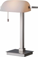 Kenroy Home 32305BS Wall Street Brushed Steel Reading Lamp