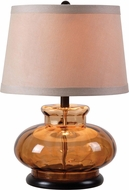 Kenroy Home 32318BRN Alamos Table Light
