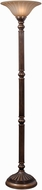 Kenroy Home 32419AGBZ Reese Aged Golden Bronze Torchiere Lighting