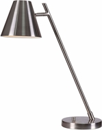 Kenroy Home 32472BS Delaney Contemporary Brushed Steel LED Task Lighting