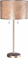 Kenroy Home 32673WAS Alec Warm Antique Silver Table Light
