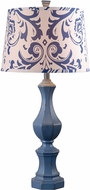 Kenroy Home 32684DNVY Gianni Distressed Navy Table Lighting
