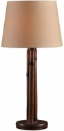 Kenroy Home 32689BAM Panda Bamboo Outdoor Lighting Table Lamp