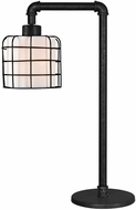 Kenroy Home 32773BRZG Alcatraz Modern Bronze Graphite Table Light