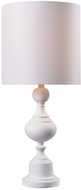 Kenroy Home 32780WH Michele White Table Top Lamp