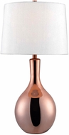 Kenroy Home 32781COP Lillian Side Table Lamp