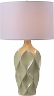 Kenroy Home 32792PST Newport Pistachio Table Light
