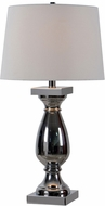 Kenroy Home 32798CH Antoine Chrome Lighting Table Lamp