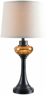Kenroy Home 32880ORB Trumpet Oil Rubbed Bronze Table Light