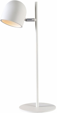 Kenroy Home 32894WH Vidal Contemporary White LED Desk Lamp