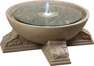 Kenroy Home 50065SS Palazzo Sandstone Outdoor Floor Fountain