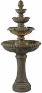 Kenroy Home 50231TE Rialto Tuscan Earth Halogen Outdoor Floor Fountain