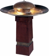 Kenroy Home 50720COP Portland Sound Copper LED Outdoor Floor Fountain