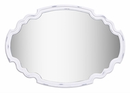 Kenroy Home 60227 Backstage Antique White Wall Mounted Mirror