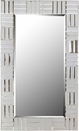 Kenroy Home 61013 Sparkle Chrome Wall Mirror