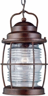 Kenroy Home 90955GC Beacon Nautical Gilded Copper Outdoor Pendant Light