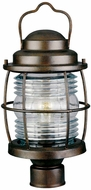 Kenroy Home 90956GC Beacon Nautical Gilded Copper Outdoor Post Lamp