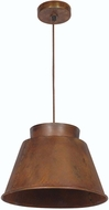 Kenroy Home 92088RST Metalsmith Rust Ceiling Light Pendant