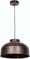 Kenroy Home 92092COP Detail Copper Ceiling Pendant Light
