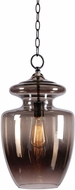 Kenroy Home 93037GR Apothecary Contemporary Graphite Hanging Pendant Lighting