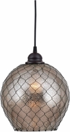 Kenroy Home 93038AMER Nillo Modern Oil Rubbed Bronze Mini Hanging Pendant Light