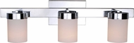 Kenroy Home 93223CH Eastlake Modern Chrome 3-Light Bath Lighting Fixture