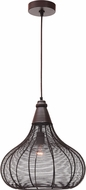 Kenroy Home 93338ORB Hartlyn Contemporary Oil Rubbed Bronze Drop Lighting Fixture