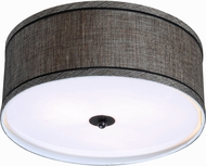 Kenroy Home 93346MTBZ Margot Oil Rubbed Bronze Flush Lighting