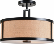 Kenroy Home 93361BRZ Keen Bronze Flush Mount Lighting