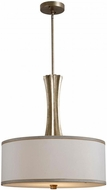 Kenroy Home 93366CSG Cinch Champagne Silver Gold Drum Lighting Pendant