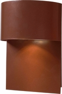 Kenroy Home 93543COP Moonlit Contemporary Copper Halogen Exterior Wall Light Fixture