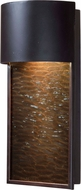 Kenroy Home 93546ORB Lightfall Modern Oil Rubbed Bronze Halogen Outdoor Lighting Wall Sconce
