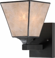 Kenroy Home 93631BRZ Capell Bronze Wall Light Sconce