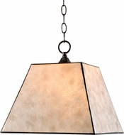Kenroy Home 93635BRZ Capell Bronze Hanging Pendant Light