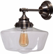 Kenroy Home 93659AGM Cambridge Aged Metal Wall Lighting Fixture