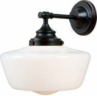 Kenroy Home 93659ORB Cambridge Oil Rubbed Bronze Wall Light Sconce