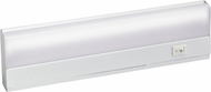 Kichler 10041WH Direct Wire Fluorescent Contemporary White Direct-Wire Fluorescent 8W Cabinet Lighting
