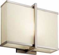 Kichler 10421SNLED Contemporary Satin Nickel LED Wall Sconce