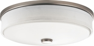 Kichler 10885NILED Brushed Nickel LED Flush Ceiling Light Fixture