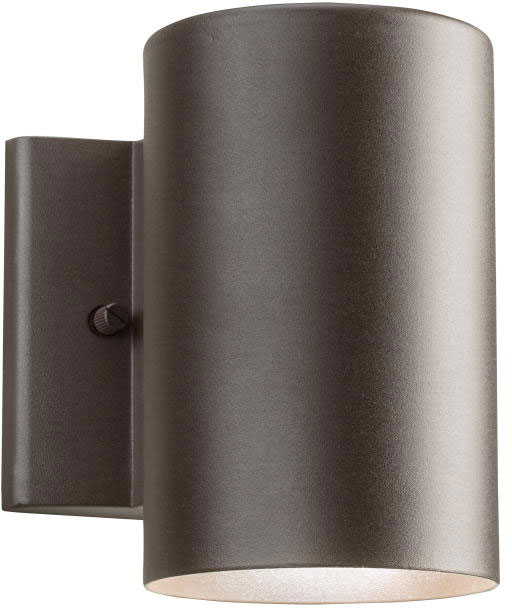 Kichler 11250AZT30 Contemporary Textured Architectural Bronze LED Exterior Wall  Sconce. Loading Zoom