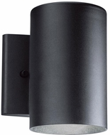 Kichler 11250BKT30 Modern Textured Black LED Outdoor Wall Lamp
