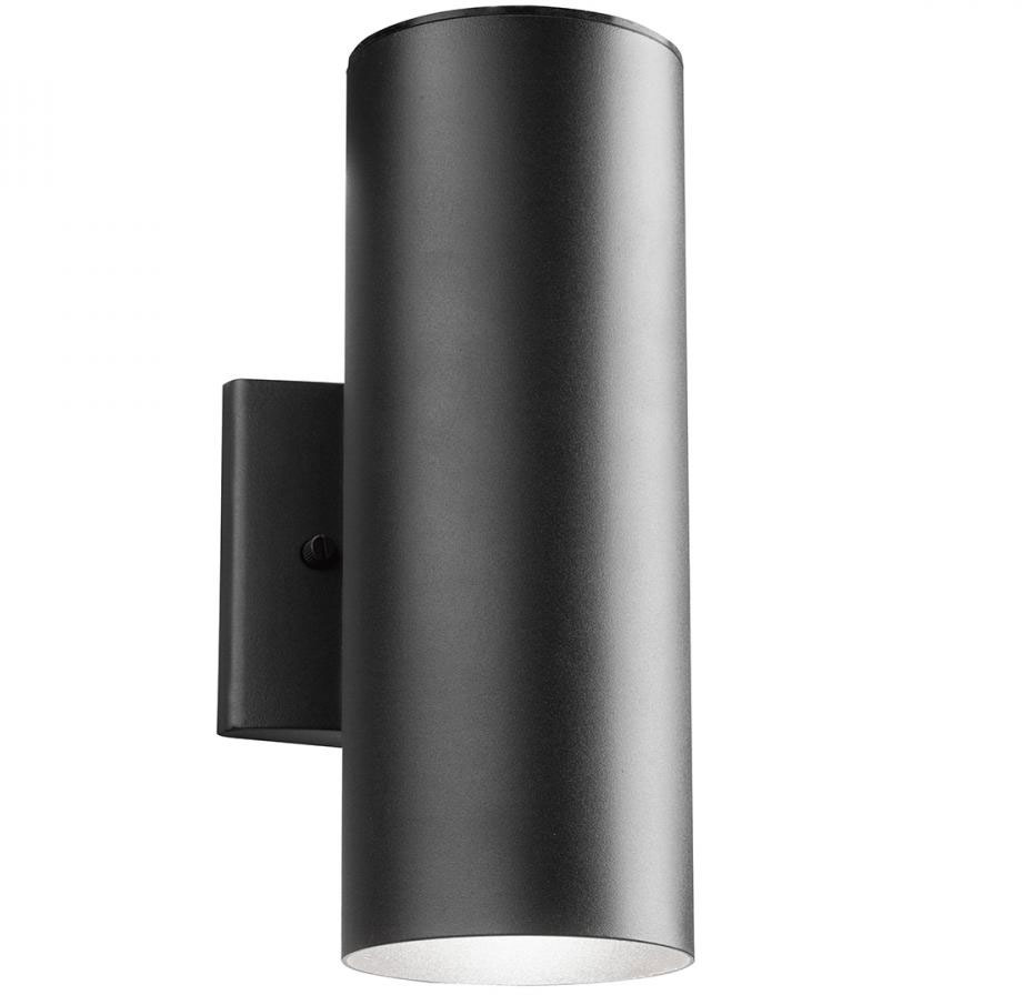 Kichler 11251BKT30 Modern Textured Black LED Outdoor Sconce Lighting.  Loading Zoom