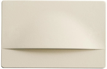 Kichler 12672ALM Step and Hall Light Contemporary Almond LED Step Light